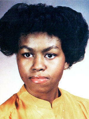 Michael Obama High School Picture