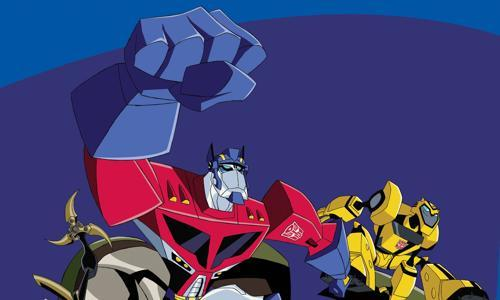 Optimus Prime from Transformers: Animated