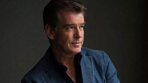Pierce Brosnan Fire Eating