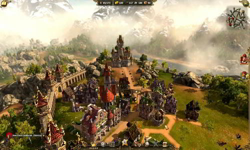 real time strategy game Settlers 7 Paths to a Kingdom