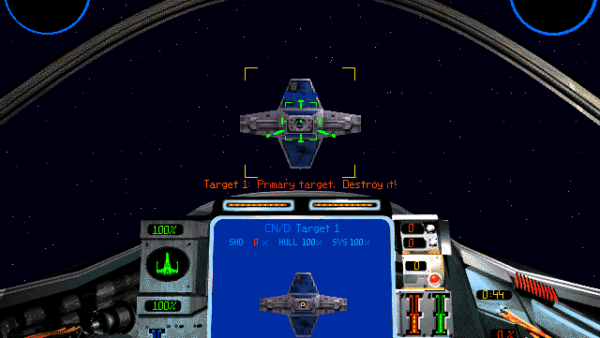 Star Wars: X-Wing vs. TIE Fighter 1997