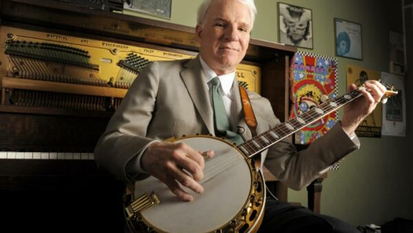 Steve Martin Knows How To Play Banjo