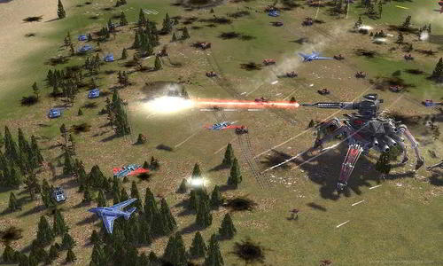 Supreme Commander the best real time strategy game