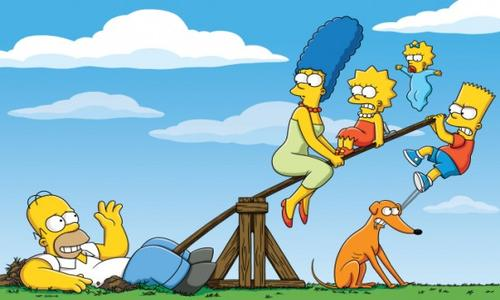 controversial cartoon the simpsons