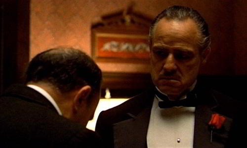 Film Mob Boss Vito Corleone