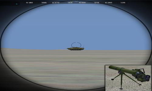 GTA Wire Guided Anti-Tank and Surface to Air Missiles