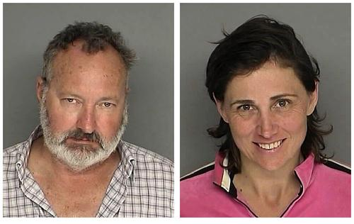 Randy Quaid and His Wife