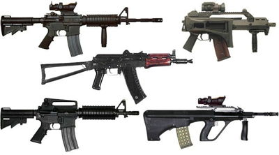 Top 10 Assault Rifles