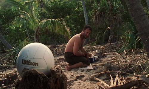 Survival Flick Cast Away 2000