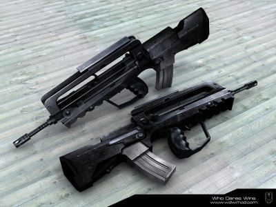best assault rifle FAMAS