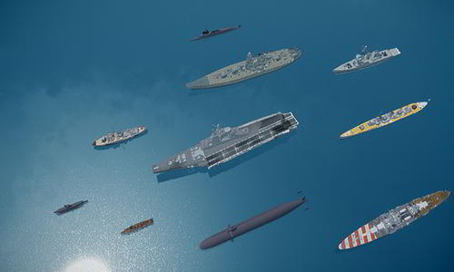 Huge Ships in GTA