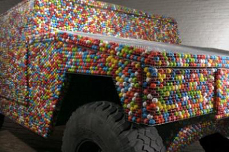 edible hummer car