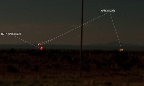 Marfa Lights unsolved mysteries