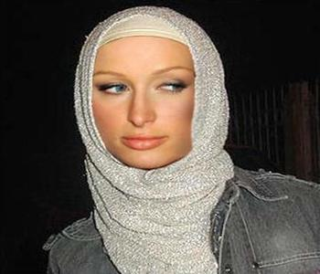 Rumors Paris Hilton Embraces Islam