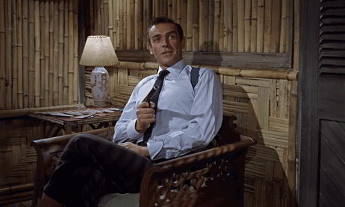 Sean Connery as bond