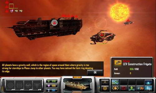 Sins of a Solar Empire real time strategy