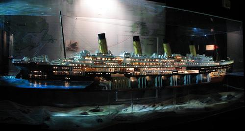 The Construction of the Titanic Movie Set
