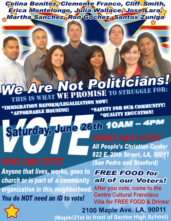 2010- Cliff elected to South Central Neighborhood Council