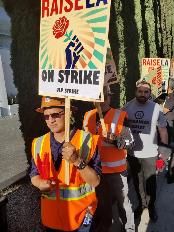 2019- Solidarity with striking hotel workers!