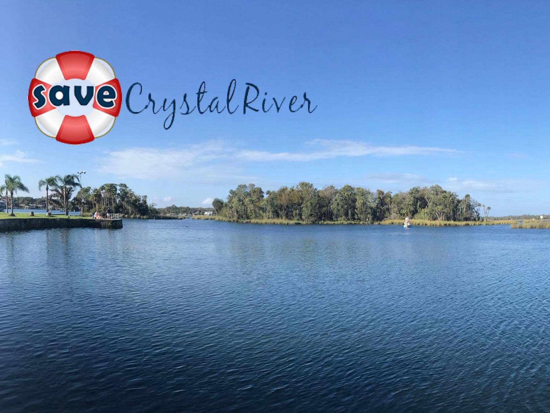 Save Crystal River Logo