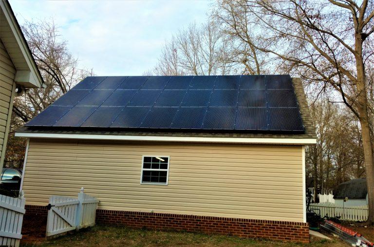 Fountain Inn, South Carolina – Greenville County solar panels