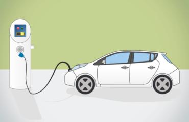 EV electric vehicle charging station
