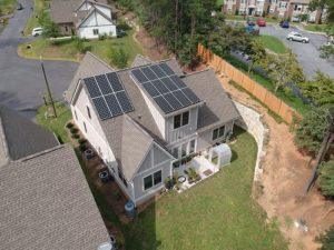 Solar energy residential photo