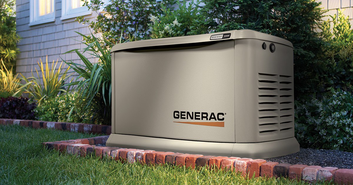 Generac whole house gas generator