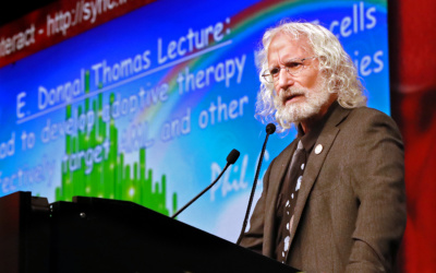 Adopting T Cells in AML: E. Donnall Thomas Lecture and Prize Goes to Philip Greenberg