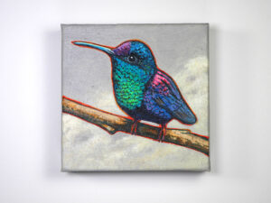 Blue Hummer, by Thomas Cory (Acrylic)