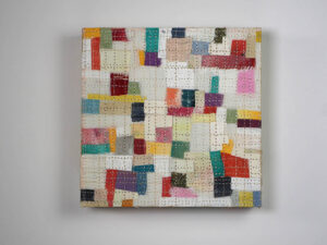 Bits & Pieces, by Maureen Lardie (Fabric Collage)