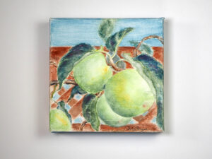 Autumn Apples, by Judy Anglin (Watercolor)