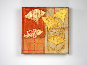 Gingko, by P. Kay Hille-Hatten (Mixed Media)