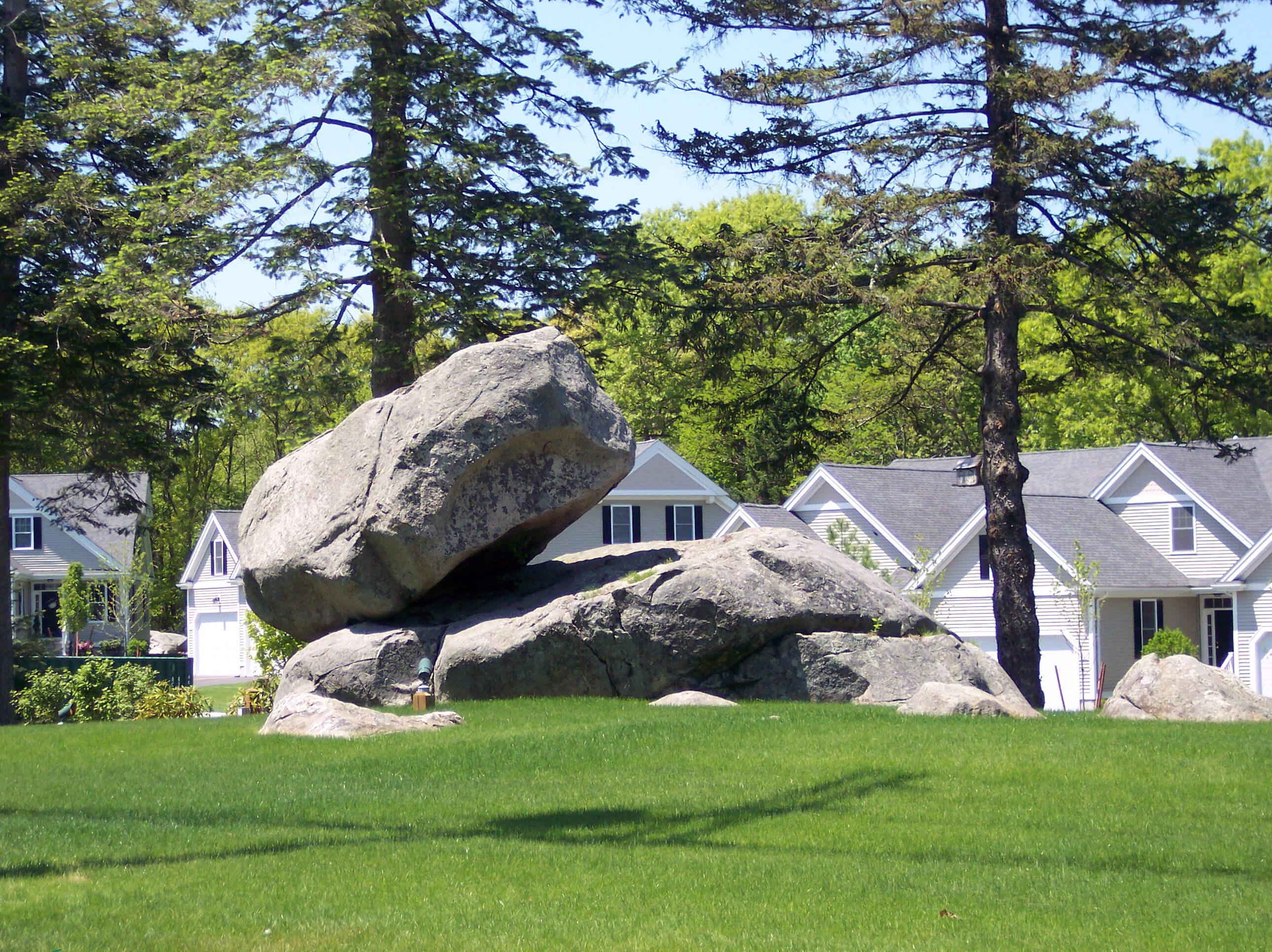 Holliston Balancing Rock