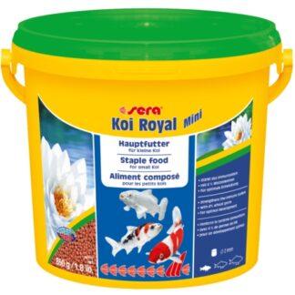 alimento para peces de pileta koi royal mini