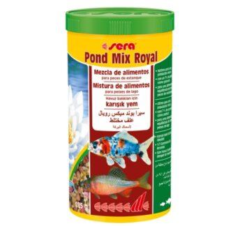 Alimento para peces de estanque variados, Pond Mix Royal de la marca alemana Sera.