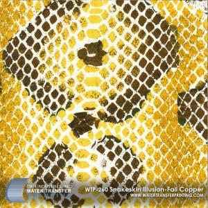 WTP-260 Snakeskin Illusion-Fall Copper