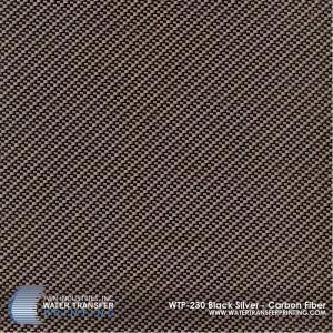 WTP-230 Black Silver - Carbon Fiber