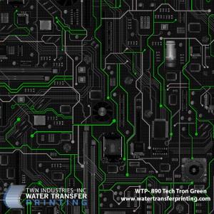 WTP-890 Tech Tron Green