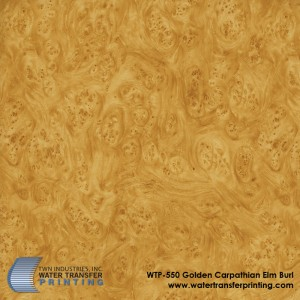 WTP-550 Golden Carpathian Elm Burl