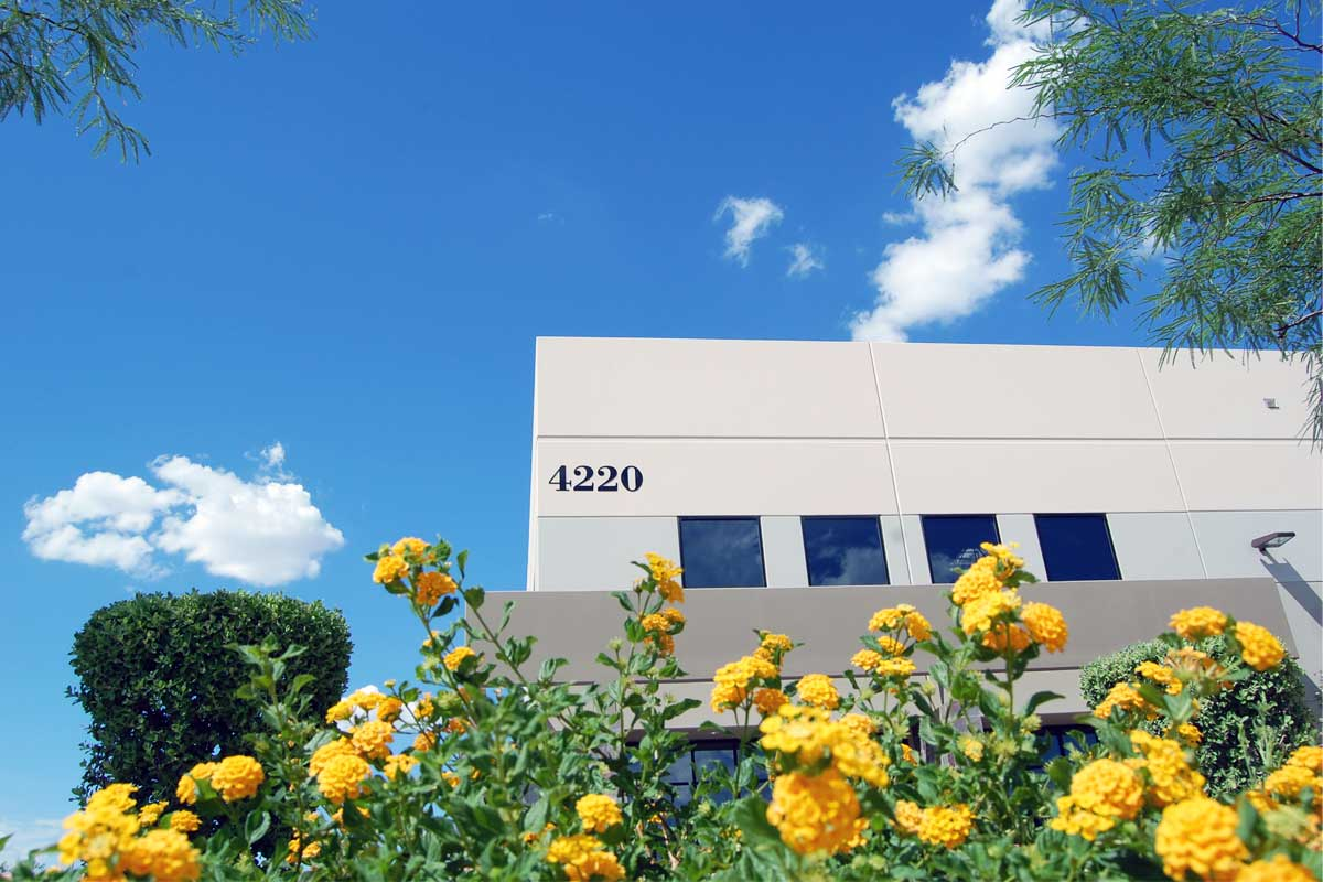 Blue Diamond Business Center - Building 3 - exterior