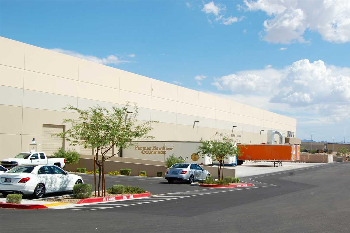 Blue Diamond Business Center - Building 3 - loading docks