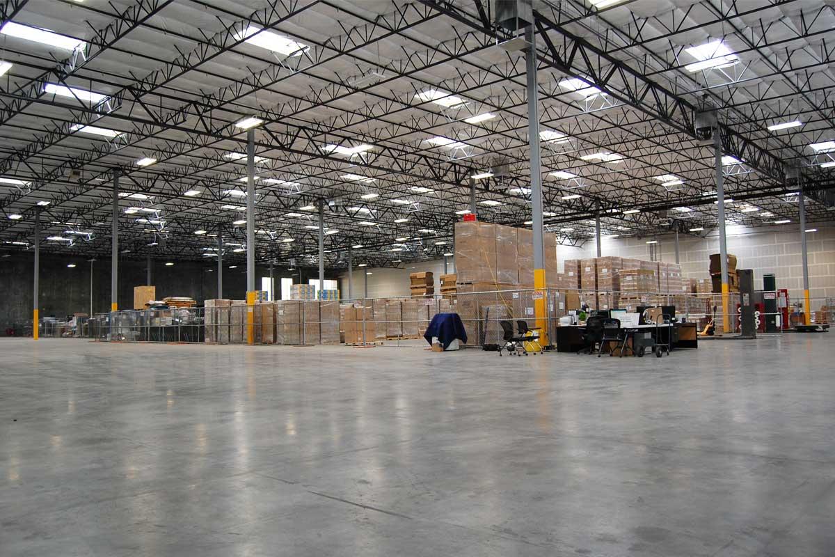 Henderson Interchange Center - warehouse interior