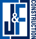 J & F Construction logo