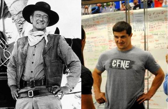 John Wayne & Dave Hamel