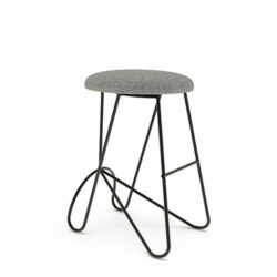 Loop Backless Barstool