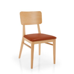 Britney Wood-back Dining Chair