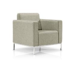 Nolan Lounge Chair – Metal base