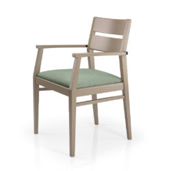Sammi Wood-back Armchair
