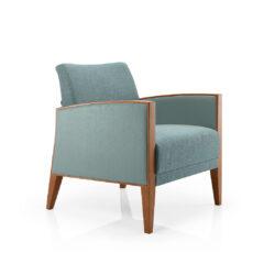 Smith Lounge Chair – Wood Edge